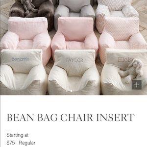 Restoration hardware kids bean bag chair insert